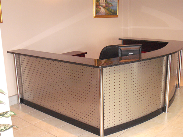 Stainless Steel Reception